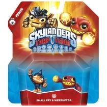Skylanders Trap Team Mini 2-Pack - Small Fry & Weeruptor Activision