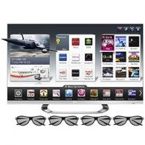 "Smart TV 3D LED 47"" LG 47LM6700 Full HD 1080p - Conversor Integrado 4 HDMI 3 USB Wi-fi 4 Óculos 3D"