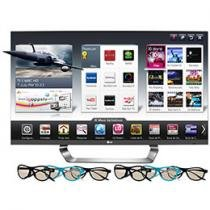"Smart TV 3D LED 47"" LG 47LM7600 Full HD 1080p - Conversor Integrado 4 HDMI 3 USB 6 Óculos DLNA"