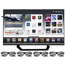 Smart TV 3D LED 47&#34; LG Full HD 1080p 47LM6400