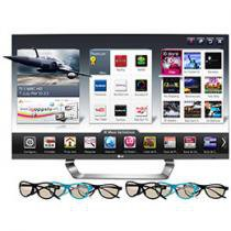 "Smart TV 3D LED 47"" LG Full HD 1080p 47LM7600"