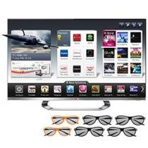 "Smart TV 3D LED 47"" LG Full HD Cinema 3D 47LM8600"