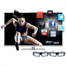 "Smart TV 3D LED 47"" Panasonic Smartviera L47DT50B - Full HD 1080p Conversor Integrado 4 HDMI 3 USB"