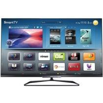 "Smart TV 3D LED 47"" Philips 47PFL7008G78 Full HD - Conversor Integrado 4 HDMI 3 USB 4 Óculos"