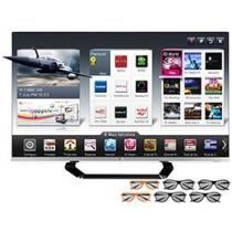 "Smart TV 3D LED 55"" LG Full HD Cinema 3D 55LM8600"