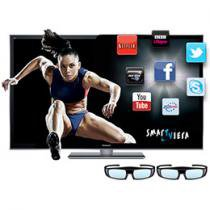 "Smart TV 3D Plasma 55"" Panasonic P55VT50B Full HD"