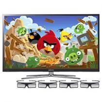 "Smart TV 3D Plasma 64"" Samsung Full HD PL64E8000"