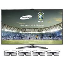 Smart TV 3D Slim LED 46 Samsung Full HD UN46ES7000 - DTV Smart Interaction 3USB Dual Core DLNA 4 Óculos