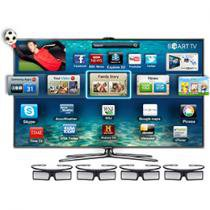 Smart TV 3D Slim LED 55 Samsung Full HD UN55ES7000
