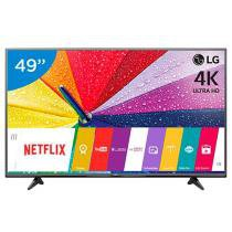 Smart TV 4K Ultra HD LED 49 LG 49UF6800 - Conversor Integrado 2 HDMI 1 USB webOS Wi-Fi