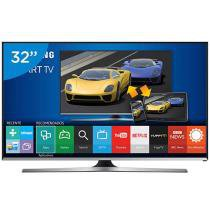Smart TV Gamer LED 32 Samsung UN32J5500 Full HD - Conversor integrado 3 HDMI 2 USB Wi-Fi