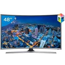 Smart TV Gamer LED 48 Samsung UN48J6500 - Full HD Conversor Integrado 4 HDMI 3 USB Wi-Fi