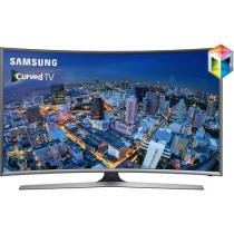 Smart TV Gamer LED Curva 55 Samsung UN55J6500 - Conversor Integrado 4 HDMI 3 USB Wi-Fi