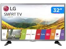 Smart TV LED 32 LG 32LJ600B WebOS - Conversor Digital Wi-Fi 2 HDMI 1 USB