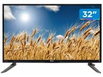 Smart TV LED 32 Philco PH32C10DSGWA - Conversor Digital Wi-Fi 2 HDMI 2 USB