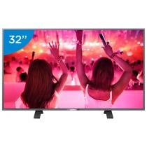 Smart TV LED 32 Philips 32PHG5201 - Conversor Digital Wi-Fi 3 HDMI 1 USB DTVi