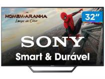 Smart TV LED 32 Sony KDL-32W655D - Conversor Digital Wi-Fi 2 HDMI 2 USB DLNA