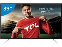Smart TV LED 39 TCL Full HD L39S4900FS - Conversor Digital Wi-Fi 3 HDMI 2 USB