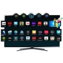 "Smart TV LED 3D 40"" Samsung UN40F6400AGXZD - Full HD Conversor 4 HDMI 3 USB c/ 2 Óculos"