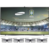 "Smart TV LED 3D 46"" Samsung UN46F8000 Full HD - 1080p Conversor Integrado 4 HDMI 3 USB 4 Óculos 3D"