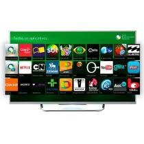 "Smart TV LED 3D 50"" Sony KDL-50W805B - Full HD 1080p Conversor Wi-fi 4 HDMI 2 Óculos 3D"