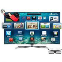 "Smart TV LED 3D 55"" Samsung UN55D8000 Full HD - Conversor Digital 240Hz 4 HDMI 3 USB 1 Óculos 3D"