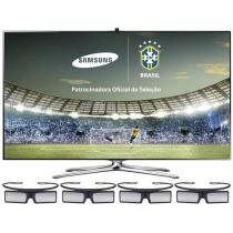 "Smart TV LED 3D 55"" Samsung UN55F7500 Full HD - 1080p Conversor Integrado 4 HDMI 3 USB 4 Óculos 3D"