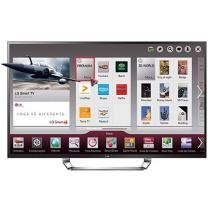 "Smart TV LED 3D 84"" LG 84LA9800 4K - Conversor Integrado DTV 3 HDMI 3 USB Wi-Fi"