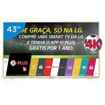 Smart TV LED 43 4K LG 43UF6900 Ultra HD - Conversor Integrado 2 HDMI 1 USB Wi-Fi