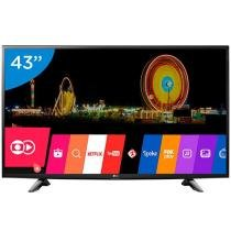 Smart TV LED 43 LG 43LH5700 Full HD - Conversor Integrado 2 HDMI 1 USB Wi-Fi