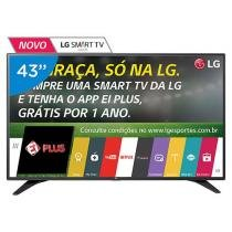 Smart TV LED 43 LG 43LH6000 Full HD - Conversor Integrado 3 HDMI 2 USB Wi-Fi