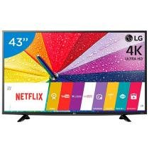 Smart TV LED 43 LG 4K/Ultra HD 43UF6400 WebOs - Conversor Digital Wi-Fi 2 HDMI 1 USB