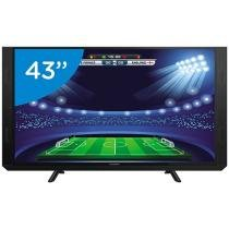 Smart TV LED 43 Panasonic Full HD TC-43SV700B - Conversor Digital Wi-Fi 3 HDMI 2 USB Soundbar