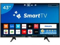 Smart TV LED 43 Philips Full HD Série 5102 - 43PFG5102 Conversor Digital Wi-Fi 3 HDMI 2 USB