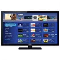 "Smart TV LED 47"" Panasonic TC-L47E5BG Full HD - Conversor Digital 4 HDMI 2 USB SD-Card DLNA"
