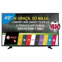 Smart TV LED 49 4K LG 49UF6400 Ultra HD - Conversor Integrado 2 HDMI 1 USB Wi-Fi