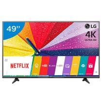 Smart TV LED 49 LG 4K/Ultra HD 49UF6800 WebOs - Conversor Digital Wi-Fi 2 HDMI 1 USB