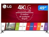 Smart TV LED 49 LG 4K/Ultra HD 49UJ6565 webOS - Conversor Digital 2 USB 4 HDMI