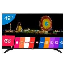 Smart TV LED 49 LG Full HD 49LH6000 WebOs - Conversor Digital Wi-Fi 3 HDMI 2 USB