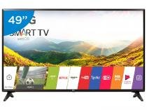 Smart TV LED 49 LG Full HD 49LJ5550 WebOS - Conversor Digital Wi-Fi 2 HDMI 1 USB