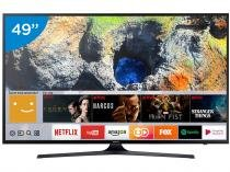 Smart TV LED 49 Samsung 4K/Ultra HD 49MU6100 - Conversor Digital Wi-Fi 3 HDMI 2 USB