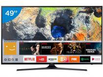 Smart TV LED 49 Samsung 4K/Ultra HD 49MU6100 - Tizen Conversor Digital Wi-Fi 3 HDMI 2 USB