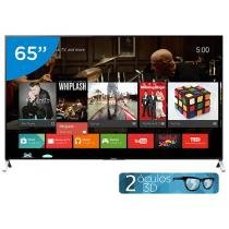 Smart TV LED 4k Ultra HD 3D 65 Sony XBR-65X905C - Conversor Integrado 4 HDMI 3 USB Wi-Fi