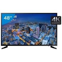 Smart TV LED 4k Ultra HD 48 Samsung UN48JU6000 - Conversor Integrado 3 HDMI 2 USB Wi-Fi