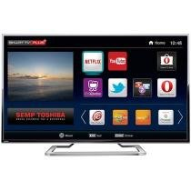 Smart TV LED 4K Ultra HD 49 Semp Toshiba 49L7400 - Conversor Integrado 3 HDMI 2 USB Wi-Fi