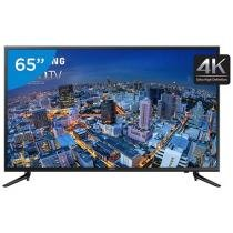 Smart TV LED 4k Ultra HD 65 Samsung UN65JU6000 - Conversor Integrado 3 HDMI 2 USB Wi-Fi