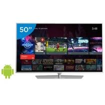 Smart TV LED 50 Philips 4K/Ultra HD 50PUG6700/78 - Android Conversor Digital Wi-Fi 4 HDMI 3 USB DTVi