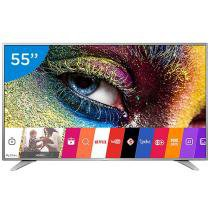 Smart TV LED 55 LG 4K Ultra HD 55UH6500 - Conversor Digital 3 HDMI 2 USB Wi-Fi