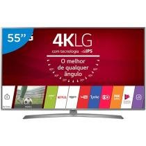 Smart TV LED 55 LG 4K/Ultra HD 55UJ6585 WebOS - Conversor Digital Wi-fi 4 HDMI 2 USB