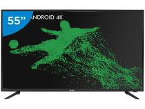 Smart TV LED 55 Philco 4K/Ultra HD PH55A17DSGWA - Android Conversor Digital Wi-Fi 3 HDMI 2 USB